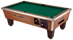 Shelti Coin Operated Pool Table